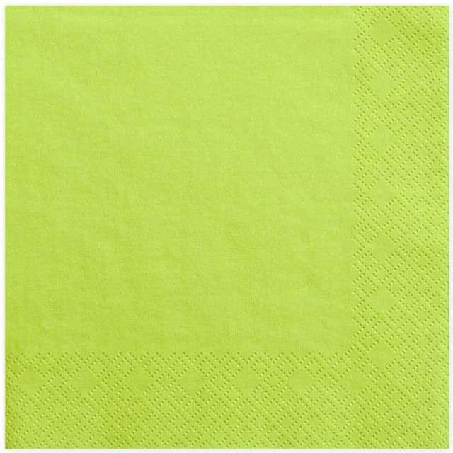 """Serwetki """"Lunch Classic"""", zielone jabłuszko, 33 cm, 20 szt"""