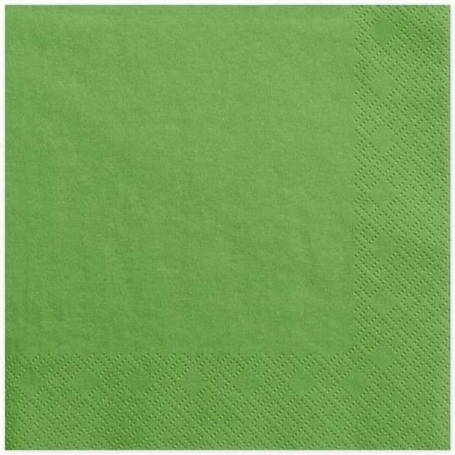 """Serwetki """"Lunch Classic"""", zielone trawiaste, 33 cm, 20 szt"""