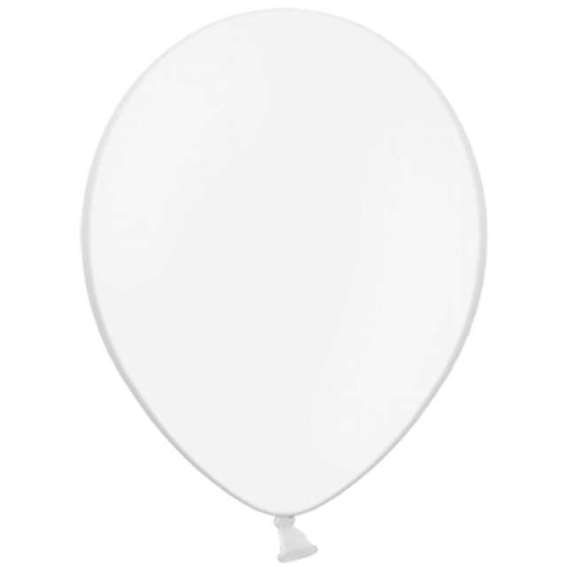 Balony Pastel białe 10 BELBAL 100szt