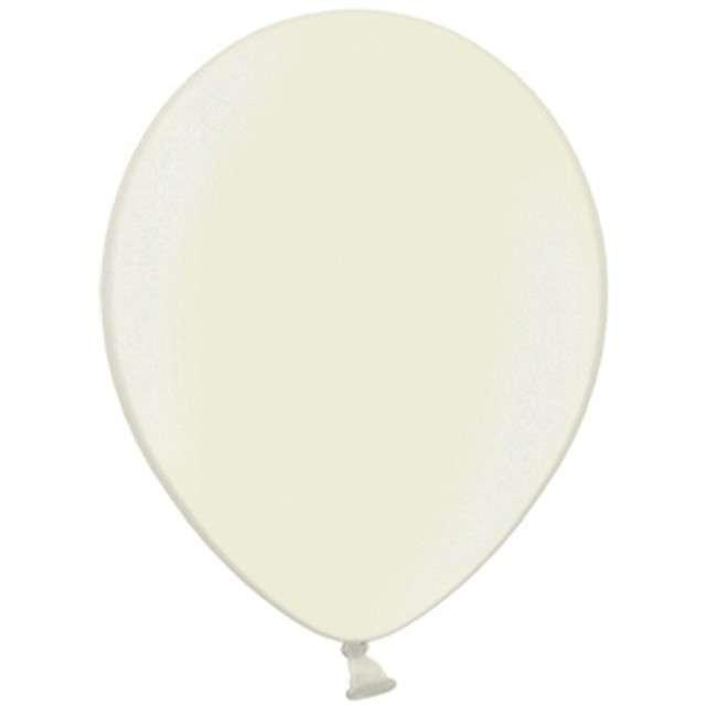 Balony Metallic kremowe 5 STRONG 100szt