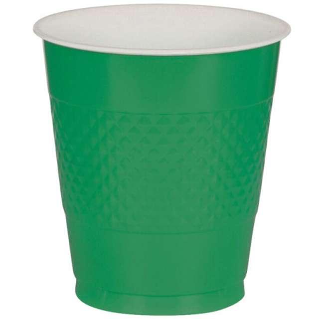 """Kubeczki plastikowe """"Diamond"""", zielone, 355 ml, 10 szt"""