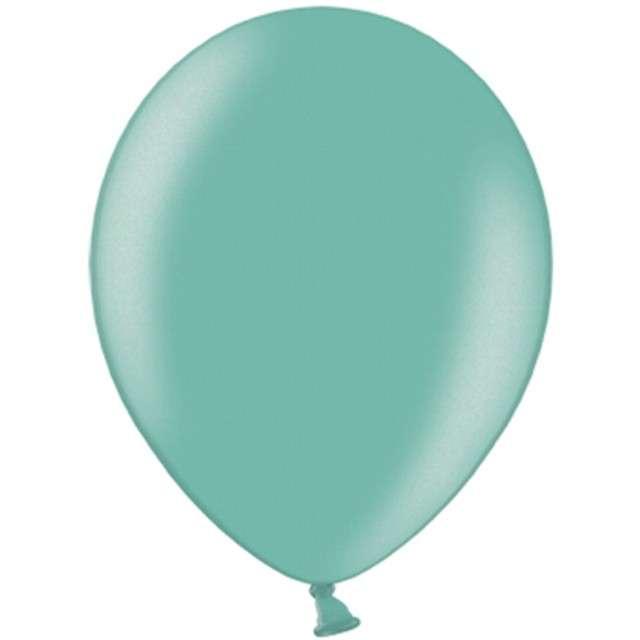 Balony Metallic akwamaryna 9 STRONG  50szt