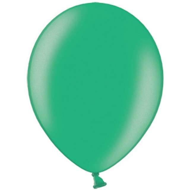 "Balony ""Metallic"", zielone ciemne, 10"" STRONG, 100 szt"