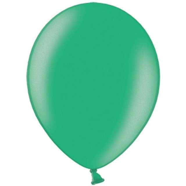 "Balony ""Metallic"", zielone ciemne, 10"" STRONG,  10 szt"