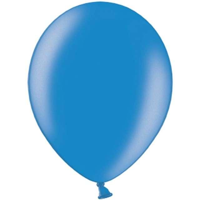 """Balony """"Metallic"""", niebieskie, 12"""" STRONG,  10 szt"""