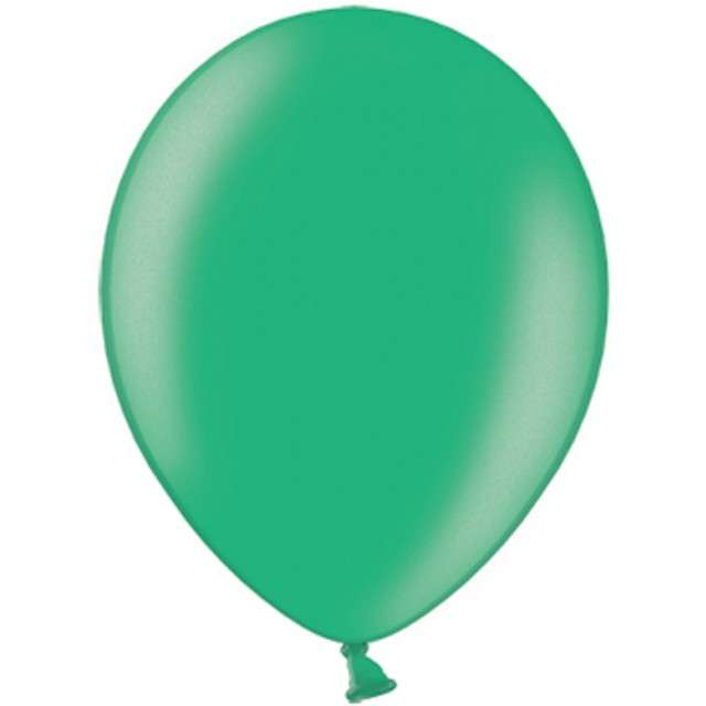 "Balony ""Metallic"", zielone ciemne, 12"" STRONG,  10 szt"