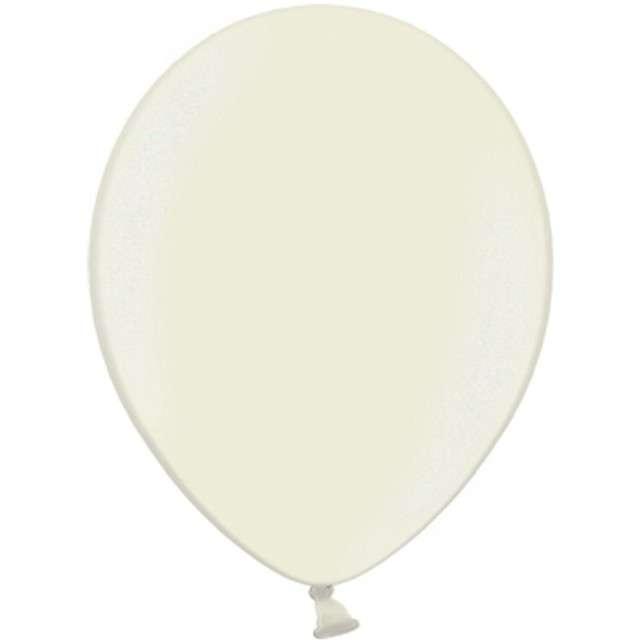 Balony Metallic kremowe 12 STRONG 100szt