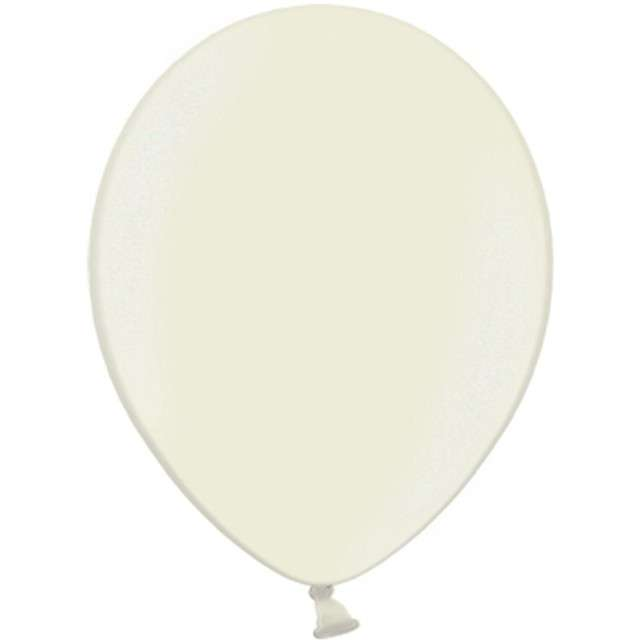 Balony Metallic kremowe 12 STRONG  10szt