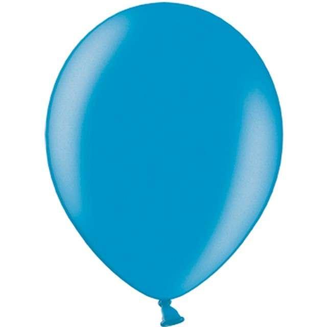 """Balony """"Metallic"""", niebieskie morskie, 12"""" STRONG,  10 szt"""