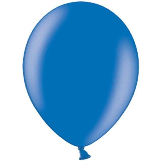 """Balony """"Metallic"""", niebieskie ciemne, 12"""" STRONG,  10 szt"""