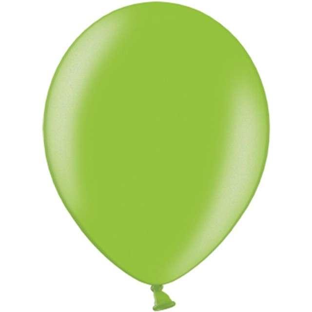 "Balony ""Metallic"", zielone jabłuszko, 12"" STRONG, 100 szt"