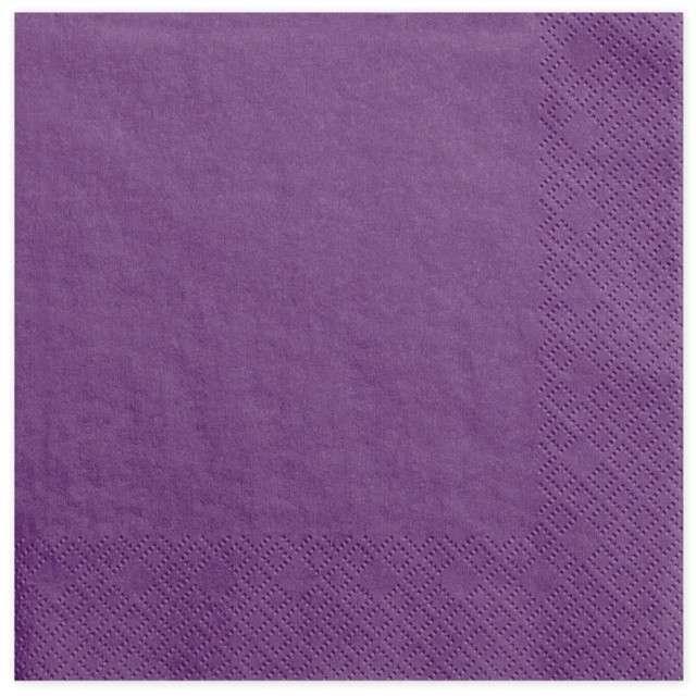 "Serwetki ""Dinner Classic"", purpurowe jasne, 40 cm, 20 szt"
