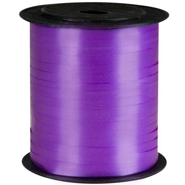 Wstążka pastelowa wąska 0,5cm x 250m, fioletowa