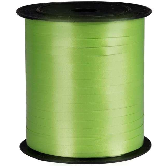 Wstążka pastelowa wąska 0,5cm x 250m, zielona jasna