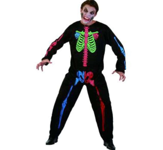 """Strój dla dorosłych """"Szkieletor neon"""", roz.uniw."""