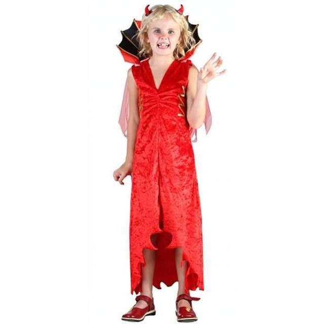 """Strój dla dzieci """"Diablica Fray Devil"""", roz. 110/120"""