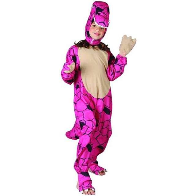 """Strój dla dzieci """"Dinozaur różowy"""", roz. 130/140"""
