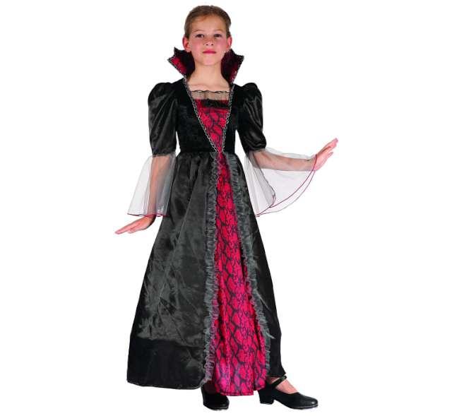 """Strój dla dzieci """"Wytworna wampirzyca"""", rozm. 110/120 cm"""
