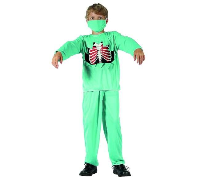 """Strój dla dzieci """"Doktor Zombie"""", rozm. 130/140 cm"""