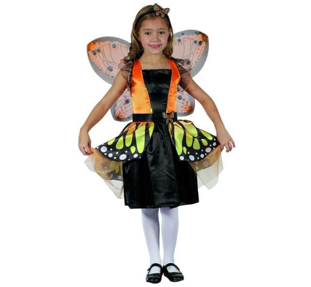 """Strój dla dzieci """"Motylek pomarańczowy"""", rozm. 110/120 cm"""