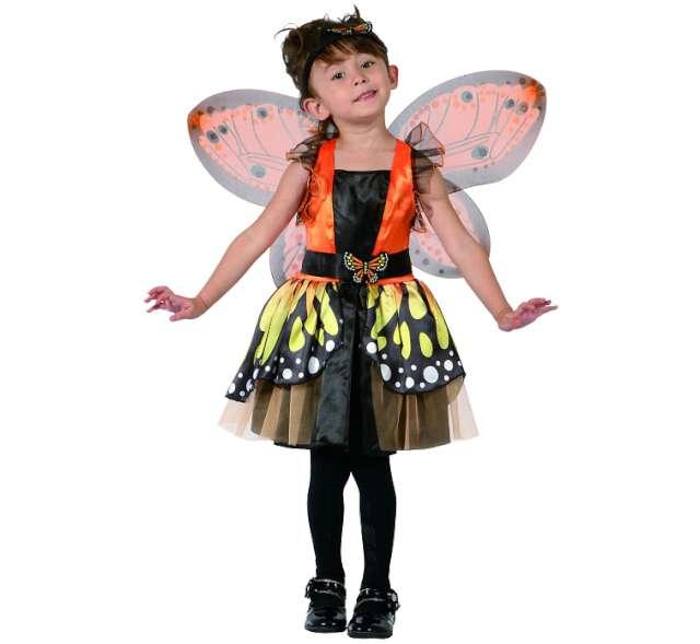 """Strój dla dzieci """"Motylek pomarańczowy"""", rozm. 92/104 cm"""