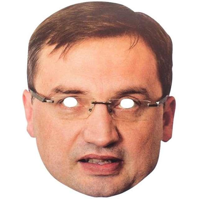 """Maska """"Zbigniew Ziobro"""", papierowa"""