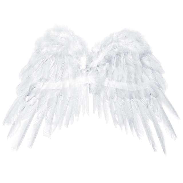 """Skrzydła """"Anioł Classic"""", białe, PartyDeco, 50 x 35 cm"""