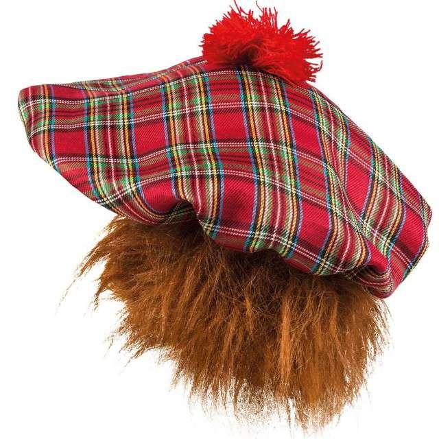 Beret Szkot z rudymi włosami BOLAND