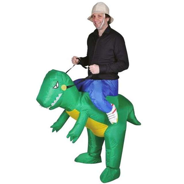 "Strój dla dorosłych ""Dinozaur"", GODAN, nadmuchiwany"