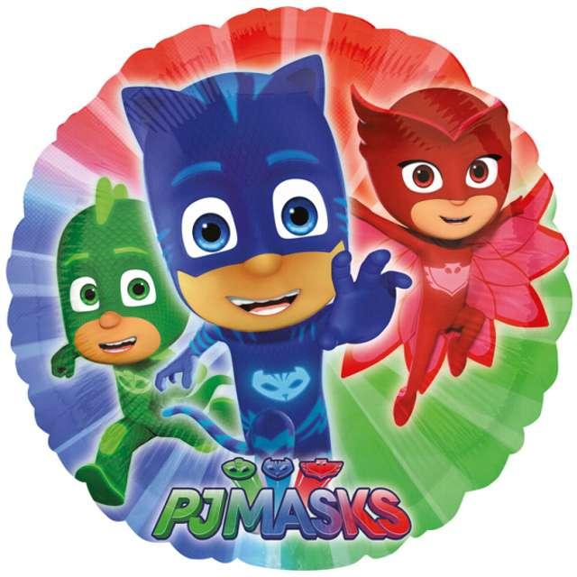 """Balon foliowy """"PJ Masks"""", AMSCAN, 18"""" RND"""