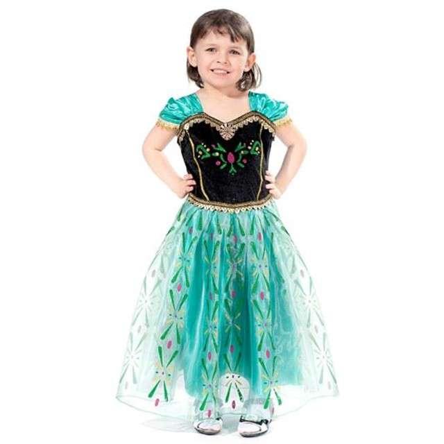 """Strój dla dzieci """"Królowa Balu"""", GODAN, rozm. M (5-6 lat)"""