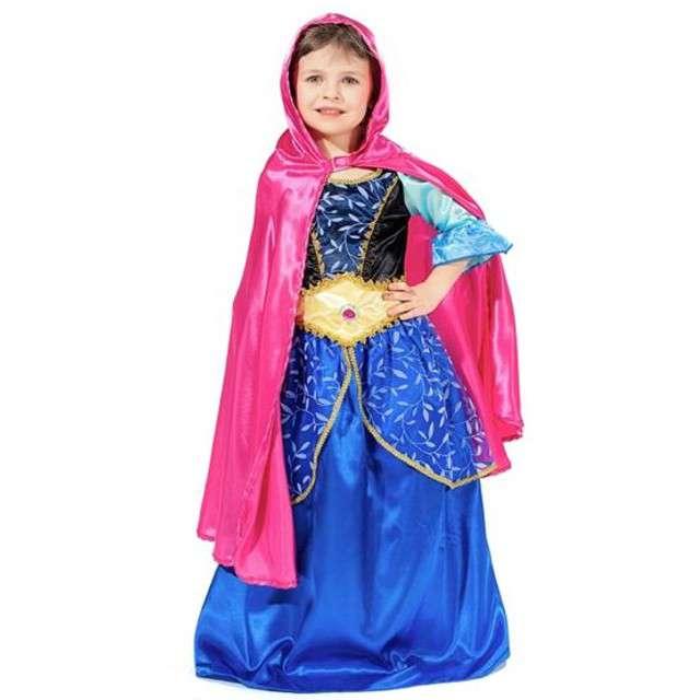 """Strój dla dzieci """"Księżniczka Ania - długa peleryna"""", rozm. S"""