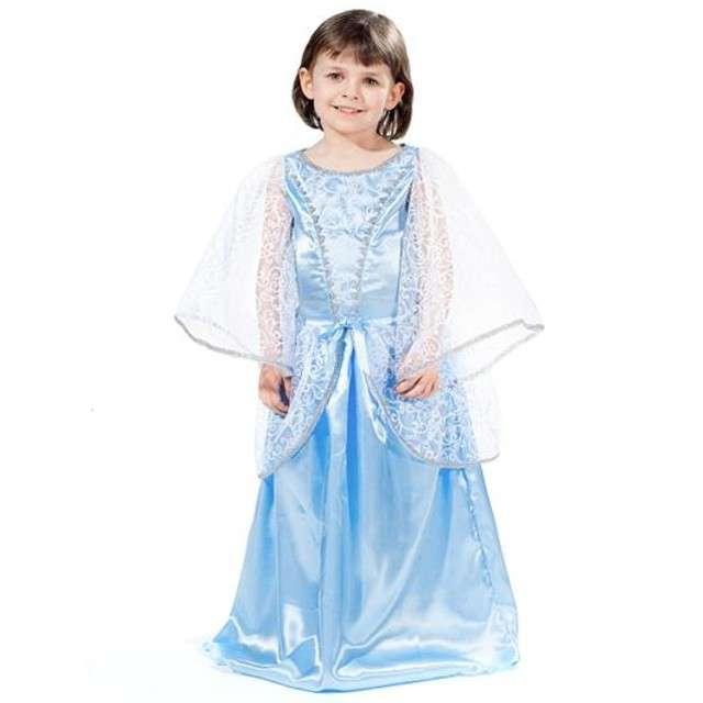 "Strój dla dzieci ""Elsa - Kraina Lodu"", rozm. L (7-8 lat)"