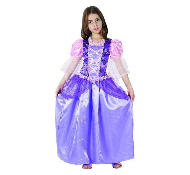 """Strój dla dzieci """"Fioletowa księżniczka"""", rozm. 130/140 cm"""
