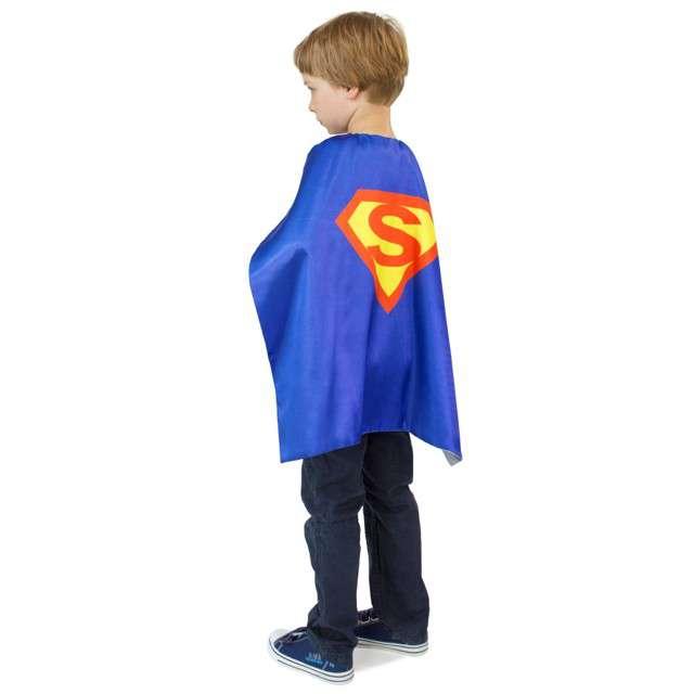 """Pelerynka dla dzieci """"Super Bohater"""", rozm. uniw."""
