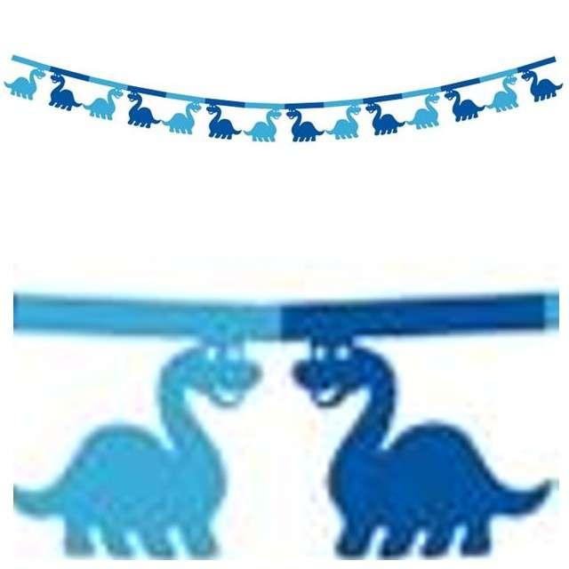 """Girlanda """"Dinozaury"""", 360 cm, 1 szt"""