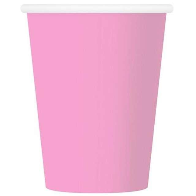 """Kubeczki papierowe """"Tradycyjny"""", różowe, 270 ml, 6 szt"""