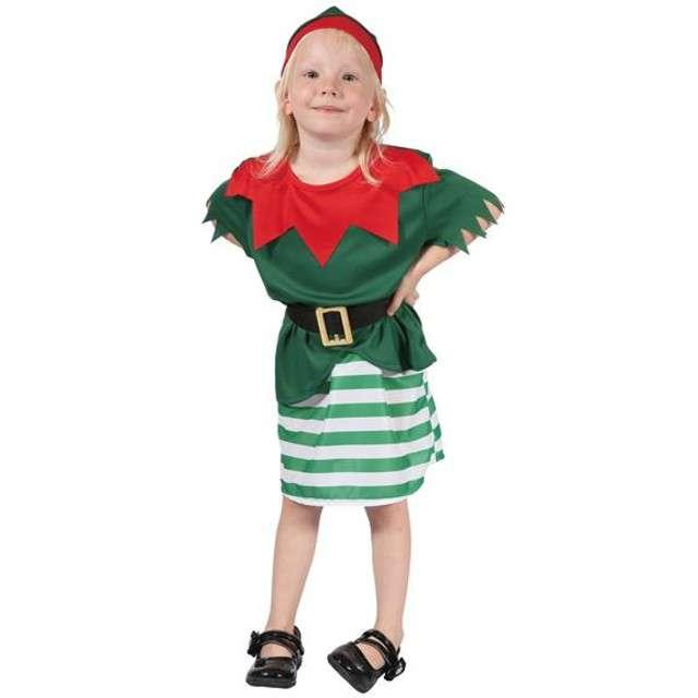 """Strój dla dzieci """"Mała Elfka"""", rozm. 92-104 cm"""