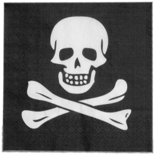 "Serwetki ""Pirat"", 33 cm, 12 szt"