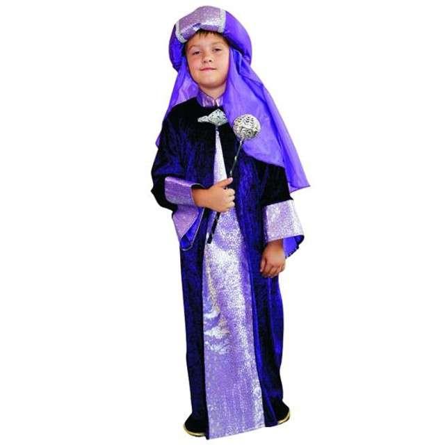 """Strój dla dzieci """"Król fioletowy"""", roz. 130/140"""