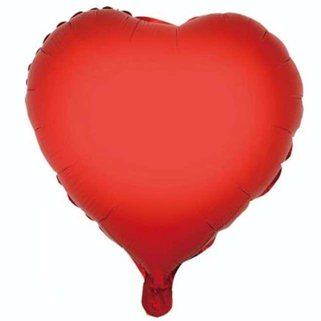 """Balon foliowy """"Serce"""", czerwone, GODAN, 18"""" HRT"""