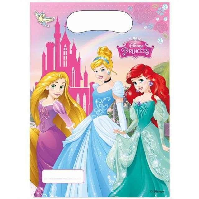 """Torebki foliowe """"Księżniczki Disneya"""", 6 szt"""