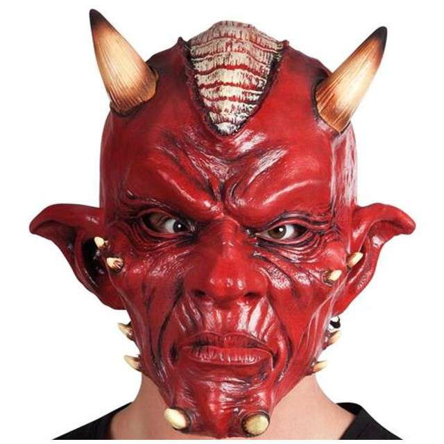 "Maska ""Diabeł"", lateksowa, Boland"