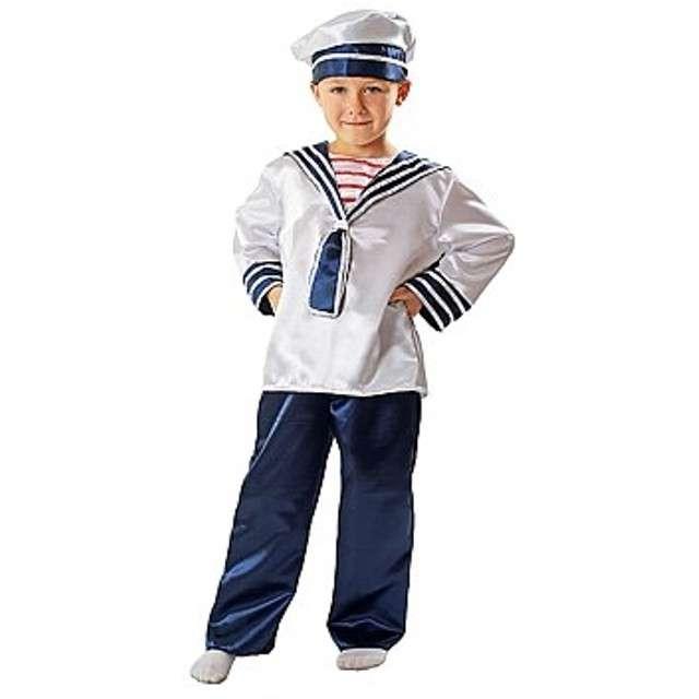 """Strój dla dzieci """"Marynarz z czapką"""", rozm. 134/140 cm"""