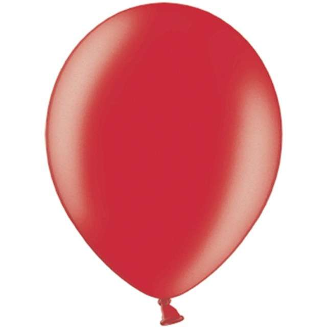 """Balony """"Celebration Metalic"""", czerwony, 9"""", 100 szt"""
