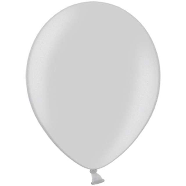 """Balony """"Celebration Metalic"""", srebrny, 9"""", 100 szt"""