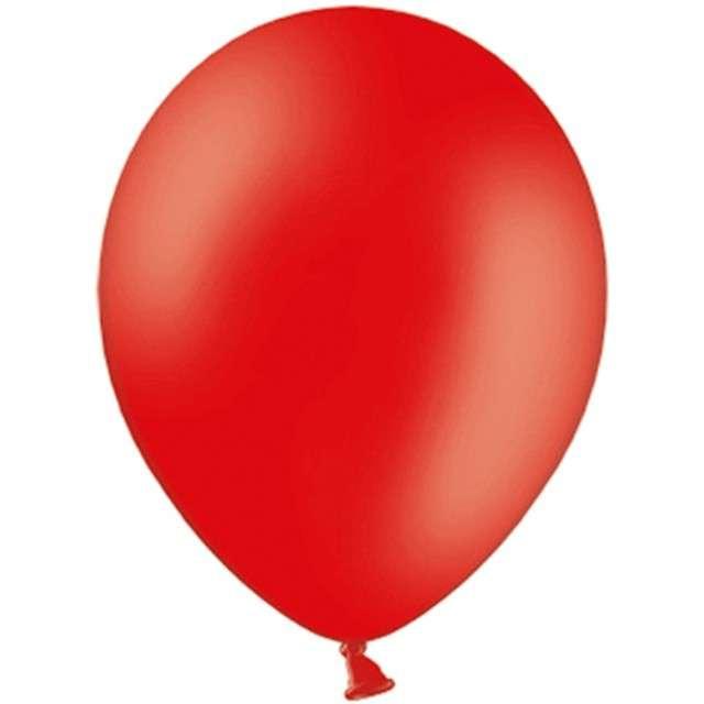 """Balony """"Celebration Pastel"""", czerwony, 9"""", 100 szt"""