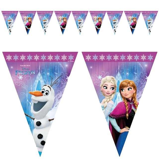 """Baner flagi """"Frozen Kraina lodu"""", PROCOS, 2,3 m"""