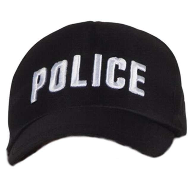"""Czapka """"Policja"""", Boland, czarna"""