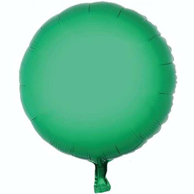 """Balon foliowy """"Okrągły"""", zielony, GODAN, 18"""" RND"""